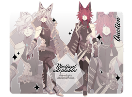 closed | Adoptable Auction #6 | by Rhe-Adopts