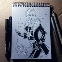 Instaart -   Killer Frost by Candra