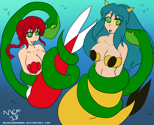 Ranma and Lum's Snag by MegaGundamMan