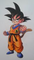 Kid Goku by cavaloalado