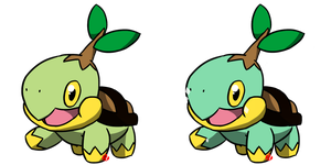 Pokemon #387 - Turtwig by Fyreglyphs