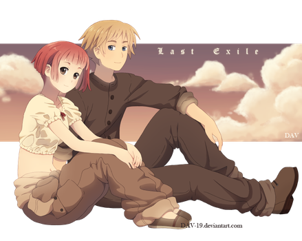 Claus and Lavie by DAV-19