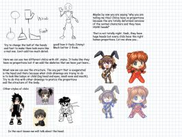 how to draw chibi part1a by LarienSnowpaw