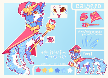 Calypso Reference Sheet by Kitsurie