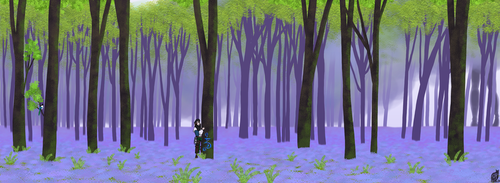 Bluebell woods by SniperGirl0907