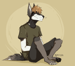 [At]Sitting Doggo by nerfusia