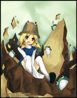 Touhou: EARTHSLAAAAPPP by fake-and-pure