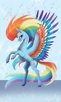 Rainbow Power Rainbow Dash by Eothnoguy