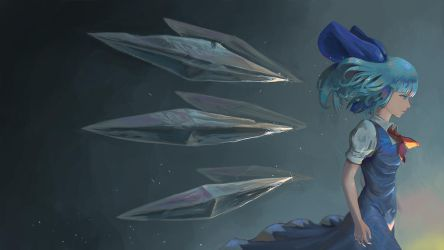 Cirno by teasmacker