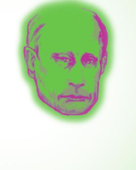 Putin by MiddleAged666