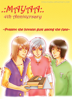 MAYAA 4th Anniversary by uepu