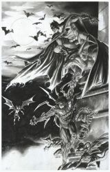 BATMAN and DARKNESS by grandizer05