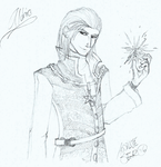 Aldric Connivan (sketch) by Absolute-Sero