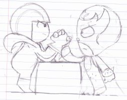 Arm Wrestle To the EXTREME by ZeoLightning