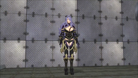 Camilla 'Pressed' Flat (Full Anim. In Desc.) by DistortingReality