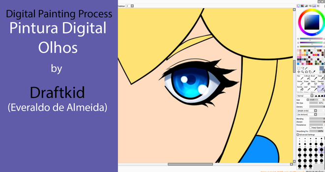Tutorial - Anime Eyes Painting pt-BR by draftkid