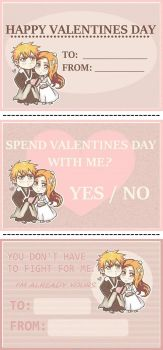 Valentines Cards Collection by vidrocity