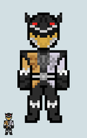 Chibi Ranger sprite - Zyuoh The World by Malunis