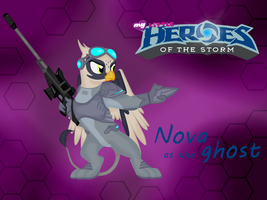 Heroes of the Storm: Nova by Virenth