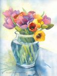 Colourful tulips by lazygirl-29