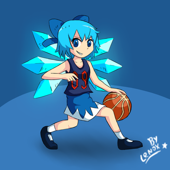 Cirno Hoops by lenoxmst