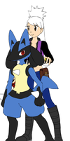 Lucario by cat55
