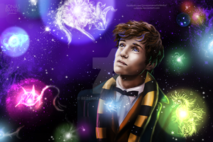 Newt Scamander by rebenke
