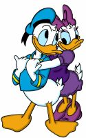 Donald And Daisy Love by dgtrekker