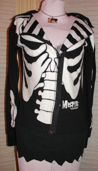 misfits skeleton jacket by smarmy-clothes
