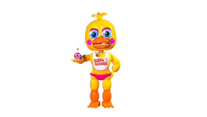 Adventure Toy Chica by Drixsenpai