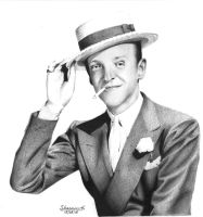 Fred Astaire by PickyPepper