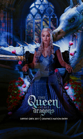 The Queen of all dragons by Dystopian-Sirpent