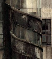 Old Stairs by REGGDIS