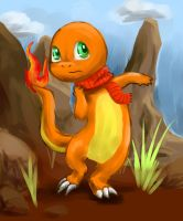 Arthur the Charmander by LittleMads