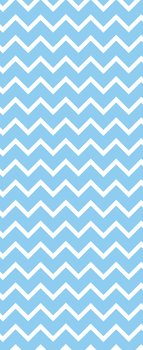 Sky Blue Chevron - custom box background by SugareeSweets