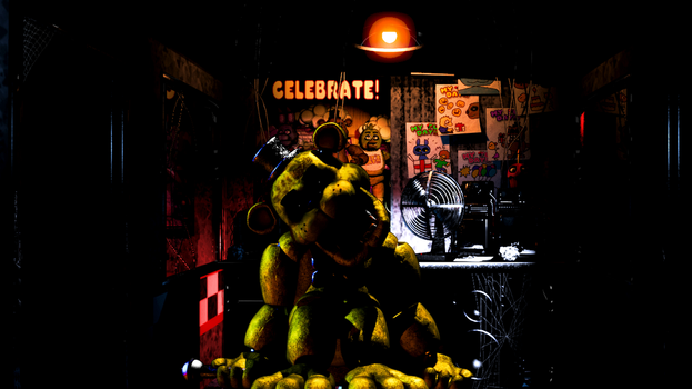 Five Nights At GOLDEN Freddy's? by ProfessorAdagio