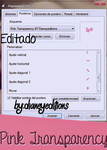 Cursor Pink Transparency by Dianeyeditions