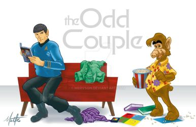 odd-Couple-DA by mervson