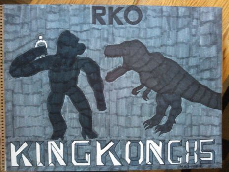 King Kong 85TH Anniversary by Forceuser77