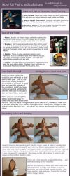 Tutorial : Painting a Sculpture by emilySculpts