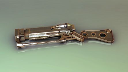 Fallout 3 rifle by iskander71