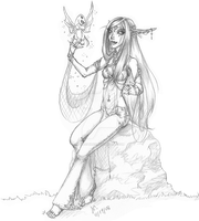 Najira, Pet Collector by phirephlies