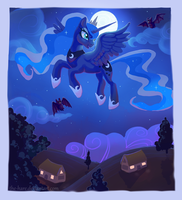 Night Flight by TheVerdantHare