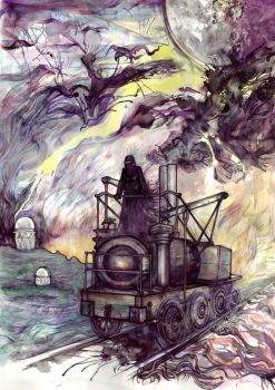 Train of Thought by Quantum-Priest
