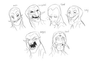 Lucero Expression Sheet by Kajiji
