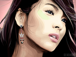 Song Hye Kyo by gershonv