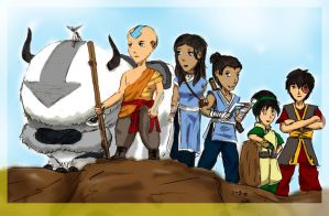 The Last Airbender by Arcemise