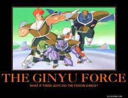 Ginyu Force demotivational by lightyearpig