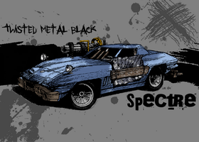 Twisted Metal Black: Spectre by Font4na
