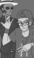 GANGSTA FOR A DAY by rad-i-cal